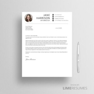 Creative cover letter for Word