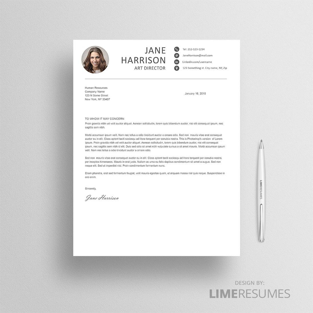 creative resume template for creatives