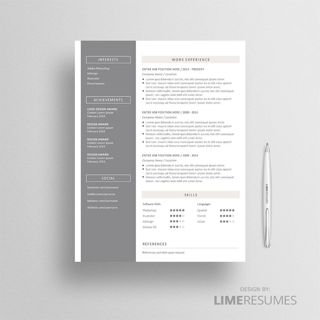 resume templates for pages mac resume with photo page photo resume