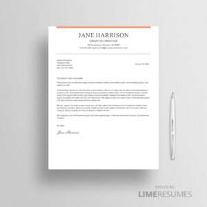 Cover letter template for Microsoft Word