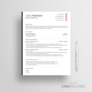 Resume template 36