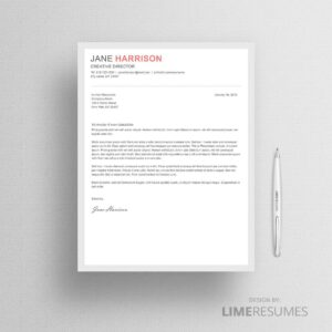 Cover letter 37