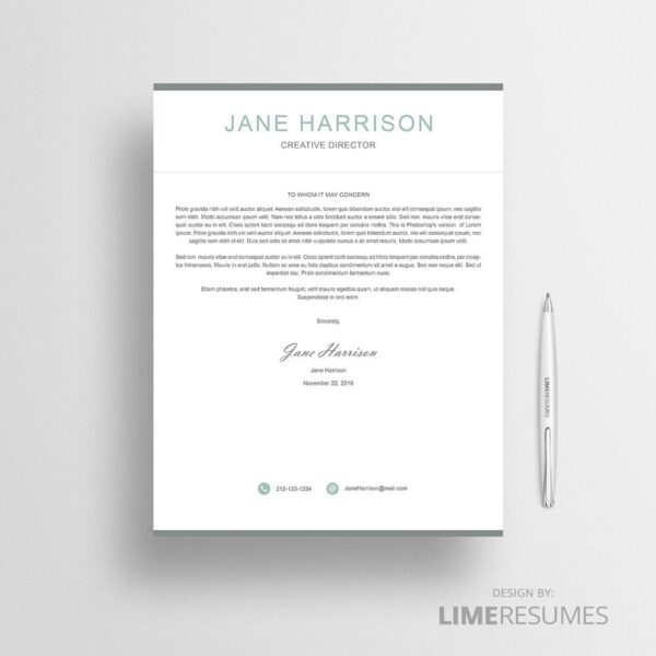 Cover letter 41