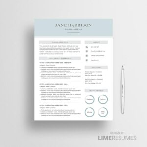 Resume template 44